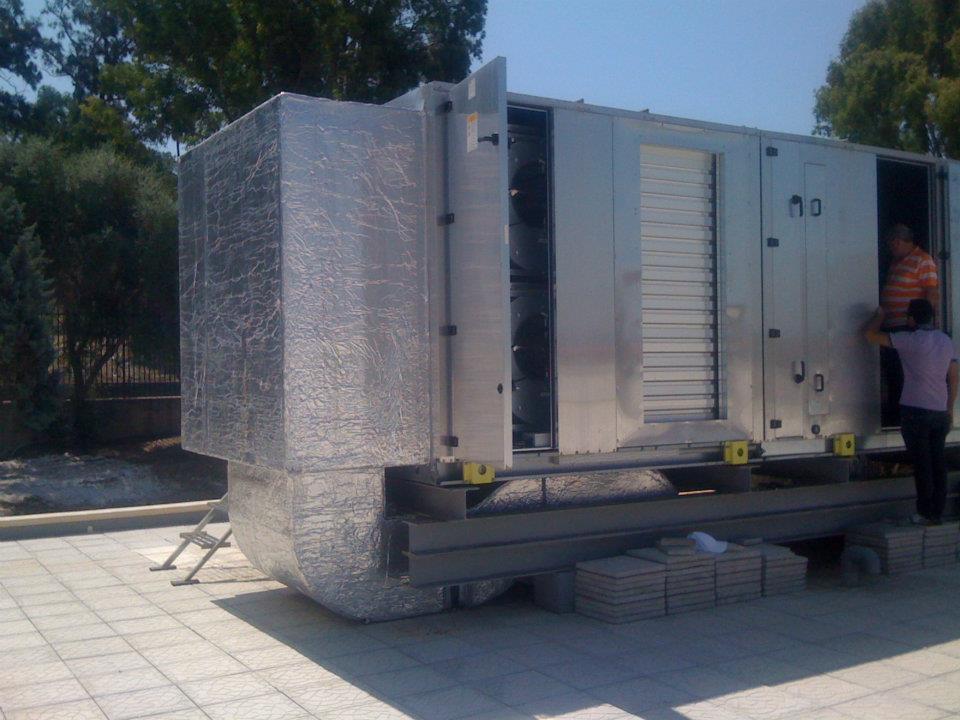 Aerazione forzata unita trattamento aria uta - Condizionatore unita esterna piccola ...
